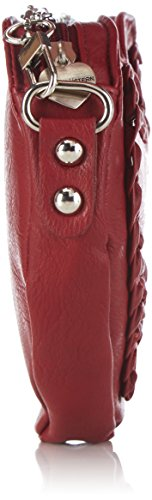 Alpenflüstern Susu DTA04900020 Damen Umhängetaschen 19x17x3 cm (B x H x T) Rot (Rot 20) 21mEBHeK