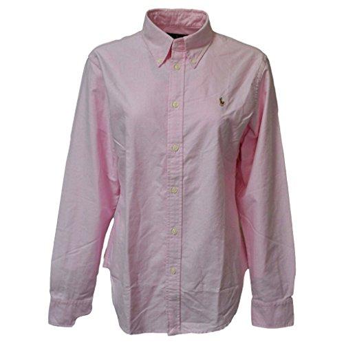 Ralph Lauren Women Oxford Classic Fit Logo Shirt (XL, New (Ladies Classic Oxford Shirt)