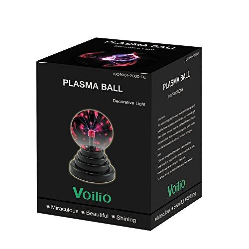 Voilio Plasma Ball Globe Usb and Battery Powered