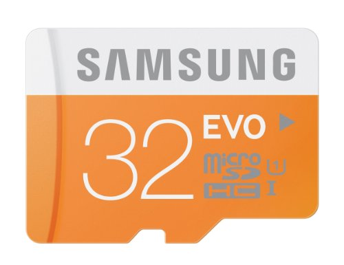 Samsung 32GB EVO Class 10 Micro SDHC up to 48MBs  with Adapter (MB-MP32DAAM)