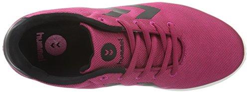 Hummel Starzero, Zapatillas Deportivas para Interior para Mujer Rosa (Sangria)