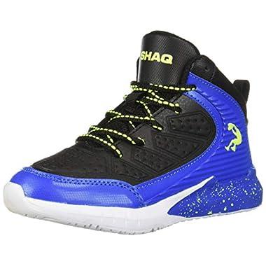 0e9765e7b25 Shaq Kids  Precision Sneaker Black Blue 4