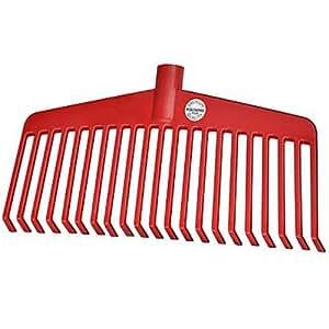 Idealspaten 66520540Nylon de rastrillo (profesional de plástico 38cm, Rojo, 40x 25x 15cm