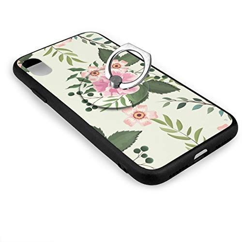Wild Metal Pedestal Rose (Wildflowers and Roses Case and Mobile Phone Stand IphoneX,IphoneX Case,Shock-Absorption & Skid-Proof Anti-Scratch Case for Apple IphoneX)