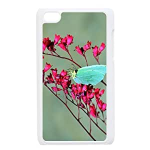 Butterfly Customized Case for Ipod Touch 4, New Printed Butterfly Case