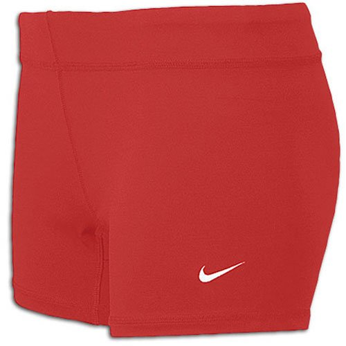 Nike Performance Women's 3.75'' Game Shorts (Large, Scarlet) Nike Lycra Shorts