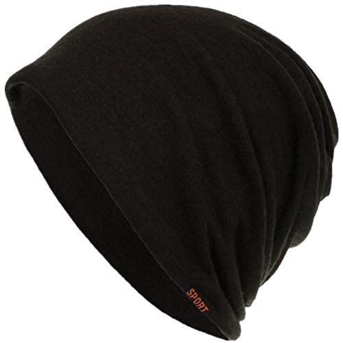 Byyong Wool Knitted Beanie Skull Caps - Baggy Weave Ugly Hat Diversity (Motorcycle Rear View Camera With In Helmet Display)