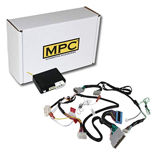 MPC Factory Remote Activated Remote Start Kit for 2014-2017 Honda Odyssey Push-to-Start - Plug-in T-Harness - Firmware Preloaded