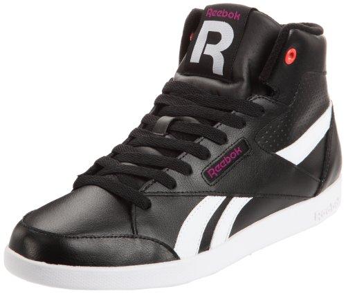 Reebok(リーボック) Fabulista Mid - Zapatillas Mujer Black/White/Aubergine
