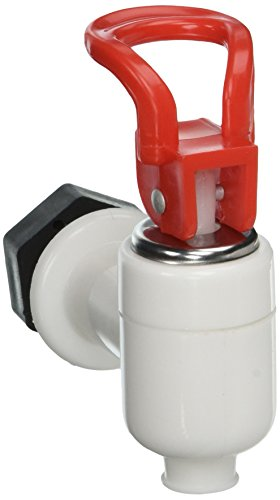 Uxcell Plastic Cooler Valve Spigot Water Dispenser Tap, White Red, White Red by uxcell (Image #4)