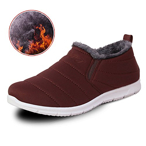 Men's Shoes Feifei High-Quality Materials Trendy Leisure Winter Keep Warm 3 Colors Coffee color zfOELaqcqp