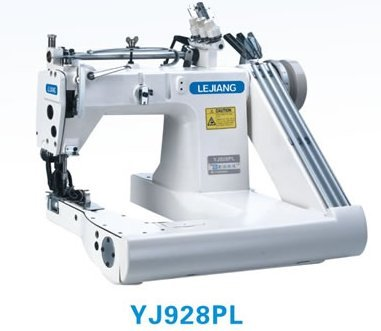YJ928PL High-speed Feed-off-the-arm Chainstitch machine by Boshi Electronic Instrument