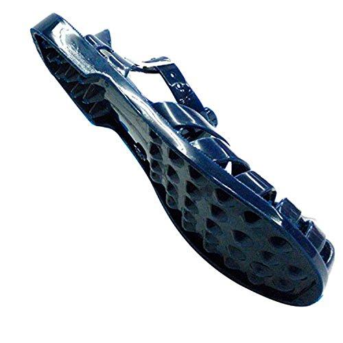 Sandalias de goma cangrejeras de río Hurán en azul marino