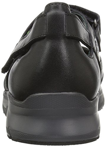 Mephisto Sano By Womens Villia Wandelschoen Black Smooth / Light Grey Queen / Steel Magic