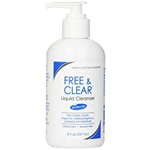 Free & Clear Liquid Cleanser, 8 Ounce