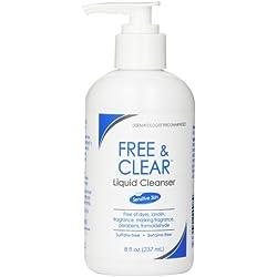 Free & Clear Liquid Cleanser, 8 Ounce