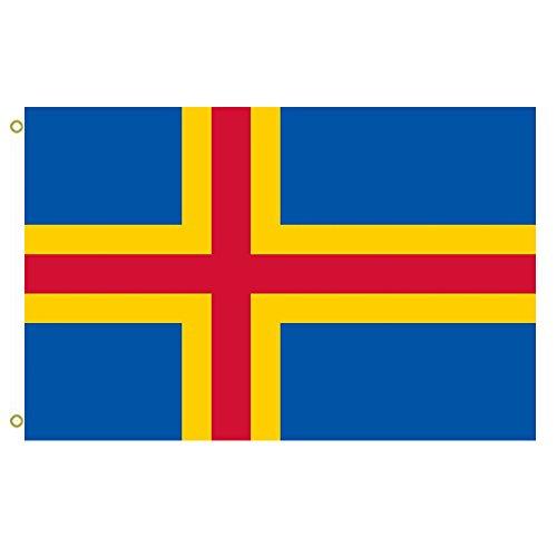 Large Flag Åland Islands Flag outdoor Flag Flying flag 3x5ft banner