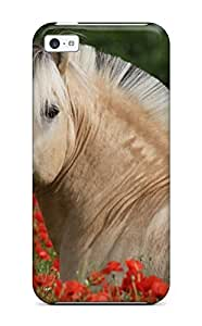 New Horse Pictures Tpu Skin Case Compatible With Iphone 5c