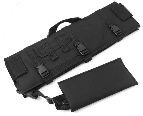 Scope Cover Padded (18inch Scope Guard Cover Shield for Riflescopes with Muzzle Cover)
