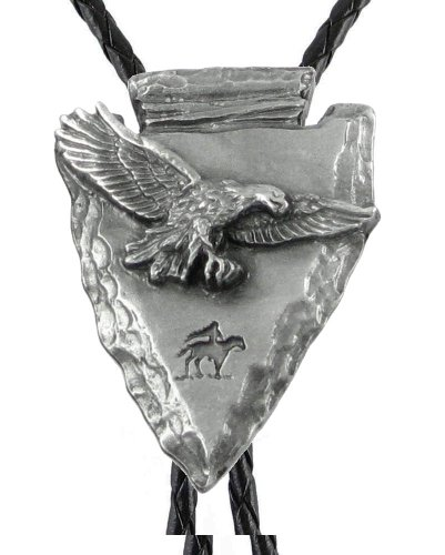 Flying Eagle - Sculpted Pewter Bolo - Unpainted ()