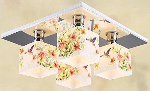 GBYZHMH Vanille Beleuchtung Balkon Leuchten Gang Dorf Wohnzimmer Idyllische  Minimalistischen Wohnzimmer Schlafzimmer Deckenleuchte