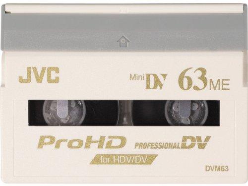 JVC Prohd Minidv M-dv63prohd - 63 Minute Mini Dv Pro Hd Digital Video Cassette - 10 Pack