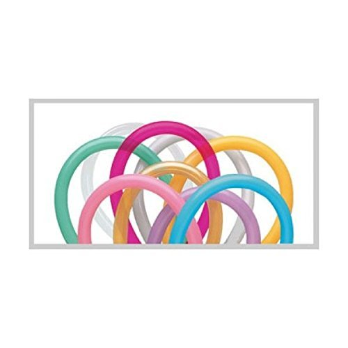 260 Pencil Balloons - Entertainer Assortment (100/bag) Qualatex