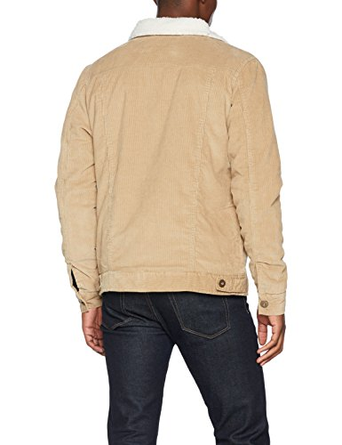 Giacca Classics Urban Uomo sand Mehrfarbig offwhite Corduroy Sherpa Jacket 1139 r1Hdwxq6HI