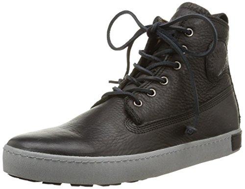 Blackstone Worker on Foxing Am02, Herren Hohe Sneakers Schwarz (Nero)