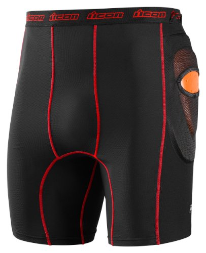 "Icon Stryker Shorts D30 Impact Protection - Black (Medium 32""-34"" 2940-0185)"