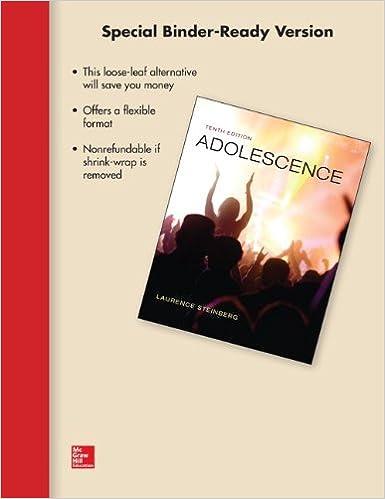 Amazon looseleaf for adolescence 9780077798291 laurence looseleaf for adolescence 10th edition fandeluxe Images