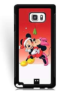 SkinMethods-Fundas Case Mickey and Minne for Samsung Galaxy Note 5 Hybrid Fundas Caso para Galaxy Note 5 Animation