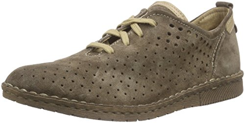 Josef Seibel Sofie 01 - Zapatos con Cordones Mujer Marrón - Braun (taupe/pearl)