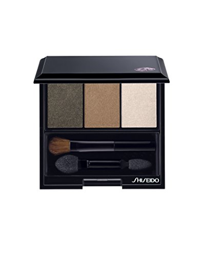 (Shiseido Luminizing Satin Eye Color Trio for Women, No. BR307 Strata, 0.1 oz)