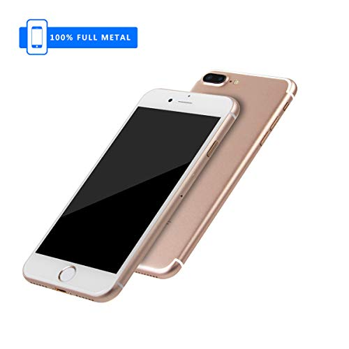 3rd Generation [Full Metal] Fake Dummy Display Compatible with Apple iPhone [Non-Working] 1:1 Scale Phone 7/7Plus 4.7/5.5 inch (Gold 5.5)