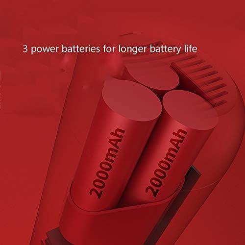 MN1 Aspirateur à Main, Aspirateur Voiture, Rapide Batterie Rechargeable de Charge, Vide sans Fil avec Haute Puissance, pour la Maison et Nettoyage de Voitures,Rouge