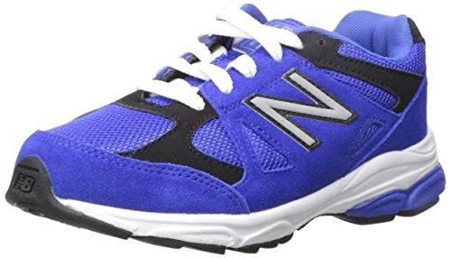 New Balance kj888V1Pre Zapatilla de Running (Little Kid) Azul/Negro