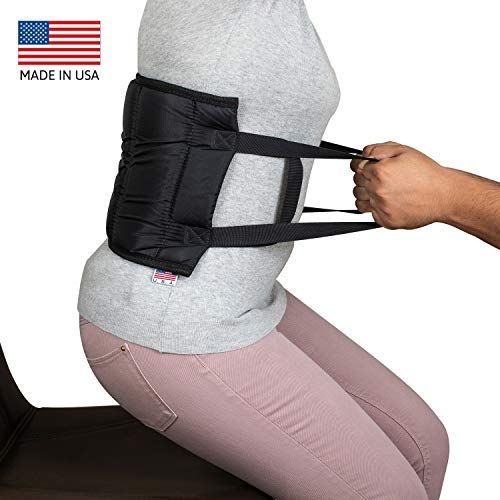 Transfer Belt, Padded Lift Belt with Handles Helps with Transfers from Car, Wheelchair, Bed. Made in USA.