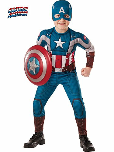 (The Winter Soldier Suit Captain America Costume, Child)