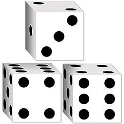 Dice Favor Boxes (3/Pkg)