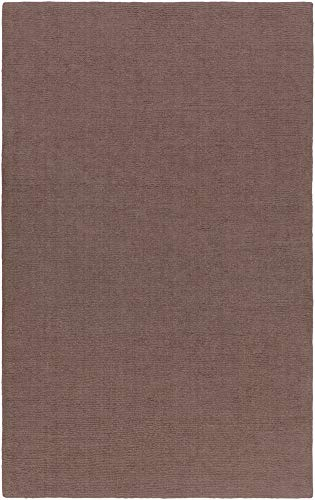 Charcoal Mystique Rug (Surya M-265 Mystique Solids and Borders Rectangle Charcoal 2' x 3' Area Rug)