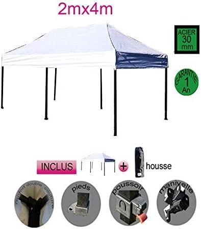 sostore – Tienda de campaña plegable cenador estructura acero 2 m ...