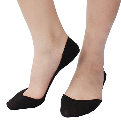 10 Pairs Ultra Low Cut Liner Socks Women No Show Non Slip Hidden Invisible for Flats Boat Summer