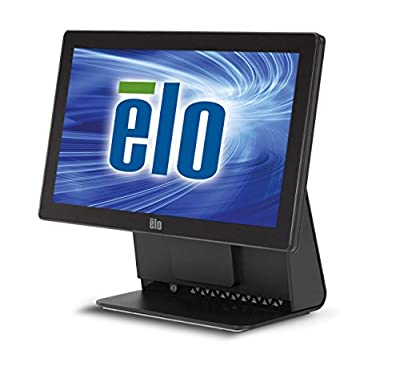 "Elo E058968 Touchcomputer 15E2 All-In-One Desktop 15.6"", 2 GB RAM, 320 GB HDD, Intel HD Graphics, Black"