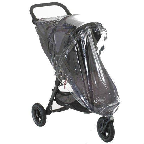 Regenschutz für Baby Jogger City Mini GT Single mit Reißverschluss Ventalux