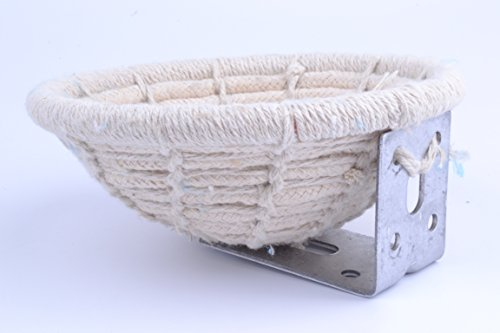 Handmade-Cotton-Weave-Hemp-Rope-Nests-Birds-Breeding-Hatching-Nest-Parrot-Nesting-Box-Cage-Hatch-House-Hut-Cave-for-Small-Parrots-Budgie-Parakeet-Cockatiel-Parakeet-Conure-Canary-Finch-Lovebird