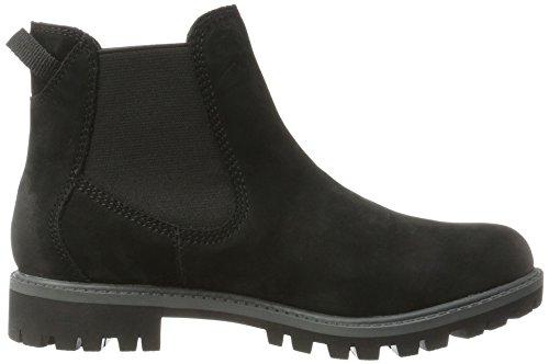 Tamaris Damen 25401 Chelsea Boots Schwarz (zwart Uni)