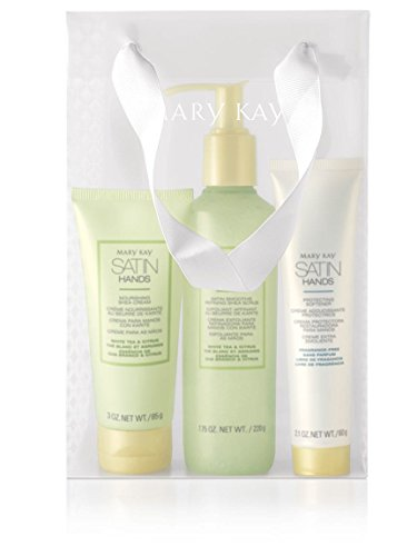 Mary Kay Satin Hands Pampering Set- White Tea Citrus