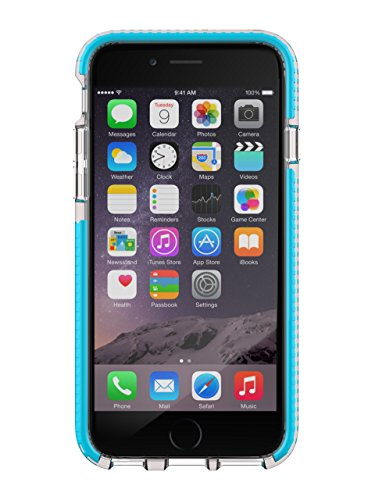 Tech21 Evo Mesh Sport for iPhone 6 - Clear/Blue