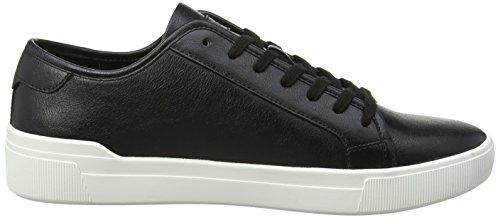 Aldo Men's Haener Low-Top Sneakers Black (Black Leather) 5XH9PtO